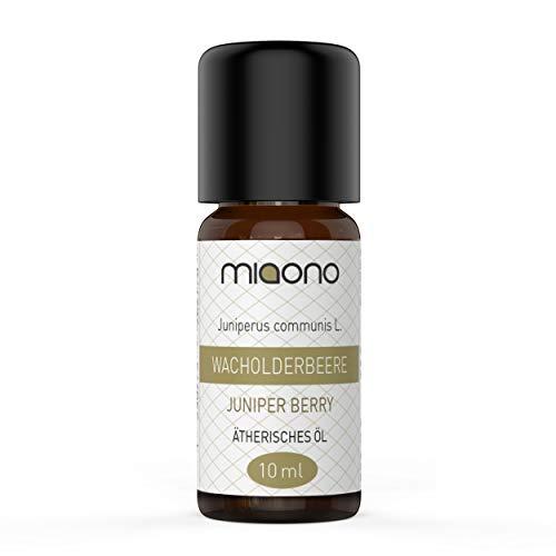 Olio essenziale al bacche di ginepro – 100% naturale (10 ml) di miaono (bottiglia di vetro)