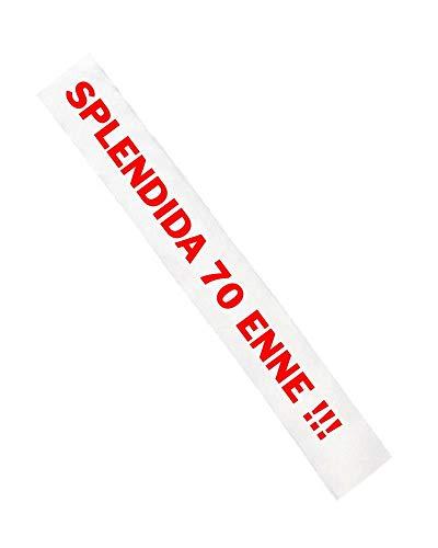 Gadget Fascia Compleanno Splendida Enne Personalizzata PS 11446-ANNI (70 anni)