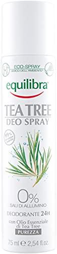 Equilibra Tea Tree Deo Spray, 75 ml