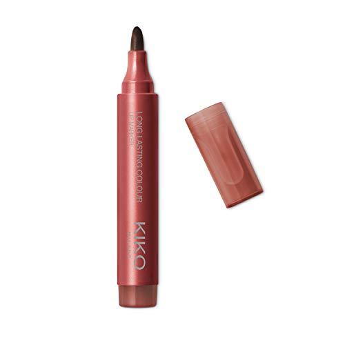 KIKO Milano Long Lasting Colour Lip Marker 111 | Pennarello Labbra No-Transfer, Effetto Tattoo Naturale a Lunga Durata (fino a 10 Ore)