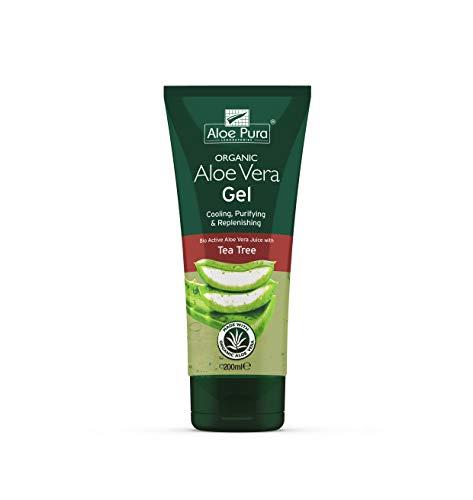 Aloe Pura Aloe Vera Gel Corpo con Tea Tree, 200 ml