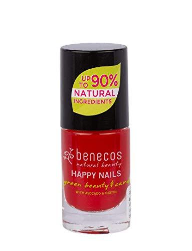 Benecos - Smalto per unghie, colore: Rosso vintage