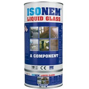 Resina – Ironem – Smalto – Resina impermeabile – Resina trasparente – Resina per pavimento interno/esterno – Vernice impermeabile ai liquidi – 4 kg