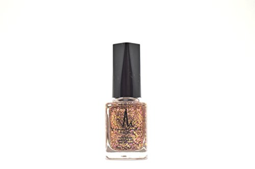 VK Vivien Kondor London Argan Care - Smalto per unghie Cl03, colore: oro rosa glitterato, 11 ml
