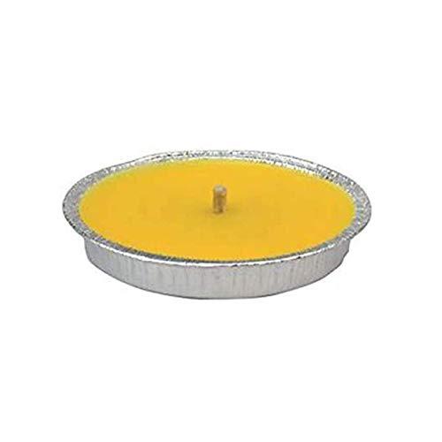 Palucart Candela citronella Giardino in Alluminio 11 cm Set da 63 Pezzi Giardinaggio antizanzare Feste ed Eventi