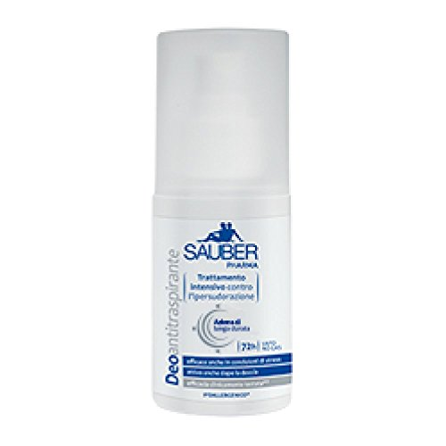 Sauber Pharma Antitraspirante 72H Deodorante Vapo 75ml