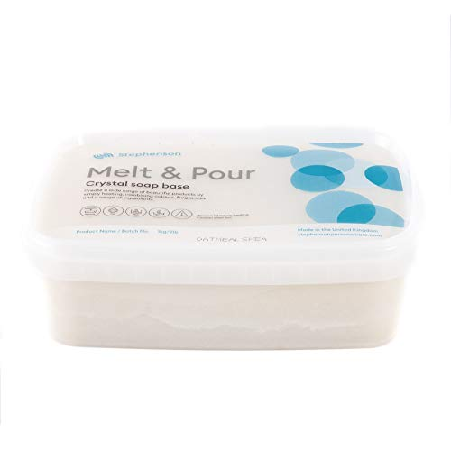 Mystic Moments Base Sapone Melt And pour - Farina d'avena e Burro di karitè 1kg