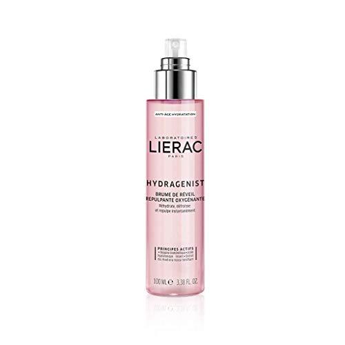 Lierac Hydragenist Acqua Spray Energizzante Idratante Rimpolpante con Acido Ialuronico, per Tutti i Tipi di Pelle, Formato da 100 ml