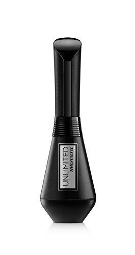 L'Oréal Paris Unlimited Mascara Allungante, Scovolino Pieghevole Risultato fino a 24 Ore, Effetto Lunga Durata, Nero