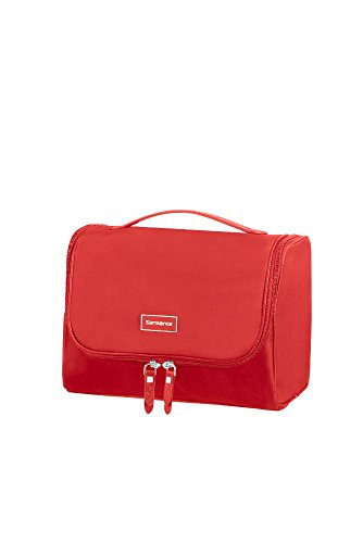 Samsonite Karissa Cosmetic Cases - Borsa da Toilette.26.5 cm, Rosso (Formula Red)