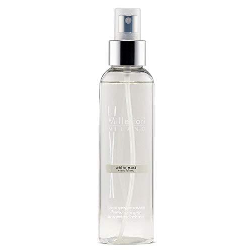 Millefiori Milano Spray Profumato per Ambiente, White Musk, 150 ml
