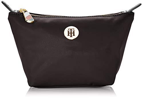 Tommy Hilfiger Poppy Make Up Bag, Borsa Donna, Nero (Black), 1x1x1 Centimeters (W x H x L)