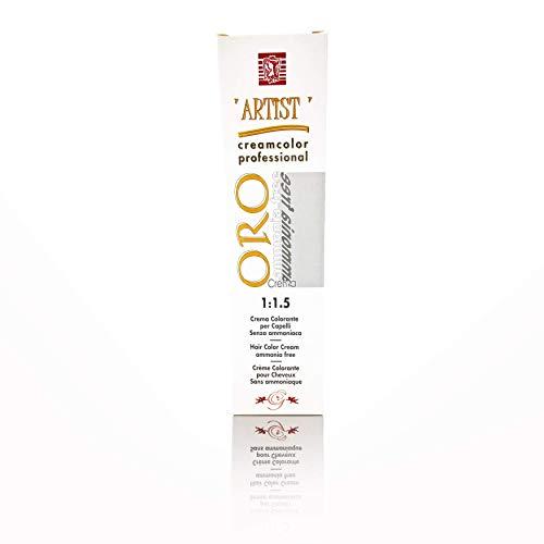 Tinta per Capelli Professionale Colore Liquirizia New Color Senza Ammoniaca 3/07 Permanente 100ml Made in Italy