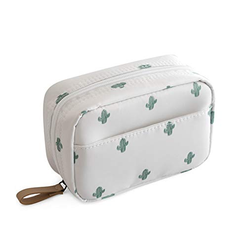 Makeup Bag Travel Cosmetic Bag Toiletry Bag Organizer Pouch Purse Travel Accessories,Cactus