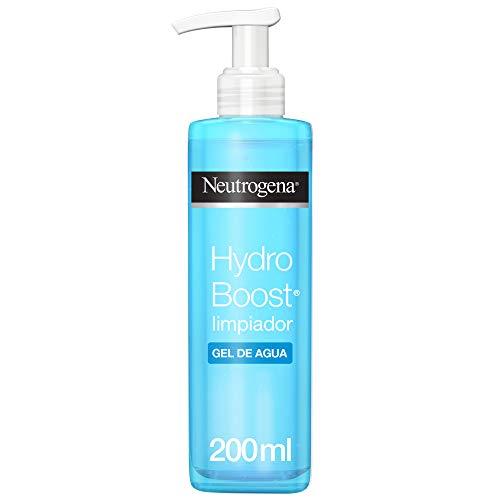 Neutrogena Acqua Gel Detergente Viso, Hydro Boost, con Acido Ialuronico, 200 ml