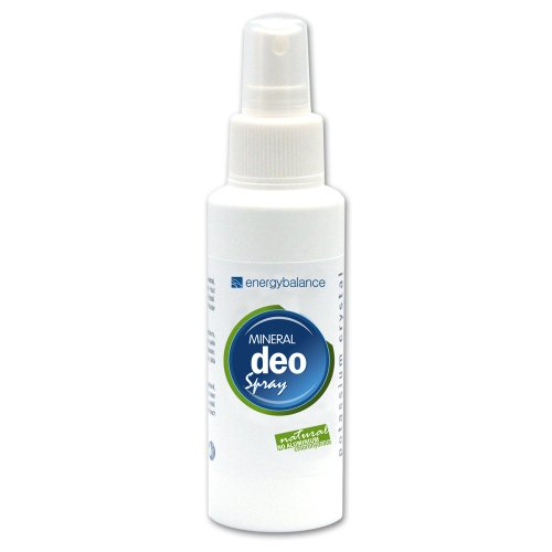 Deo crystal spray   inodore   no alcool   no sali di alluminio   no animal testing   vegan   no macchie   unisex   EnergyBalance   100ml