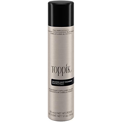 Toppik Spray Colorato per Capelli (Tono Nero) - 144 gr.