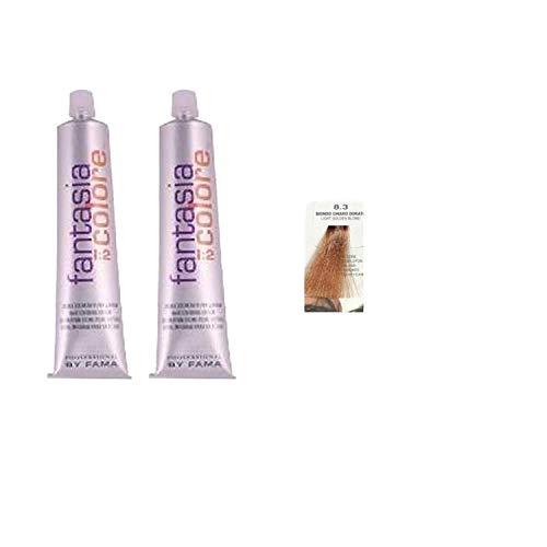 Tinta per capelli Professional By Fama 8.3 Biondo Chiaro Dorato 2 pz 80 ml