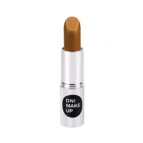 DNI Make Up - Rossetto con finitura naturale opaca, perlata o aranciata, colori classici oro