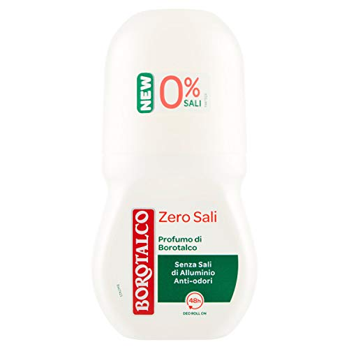 Borotalco Deodorante Roll-On Original Zero Sali - 50 ml