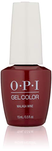 OPI - Gelcolor, Smalto gel per unghie, Malaga wine, 15 ml