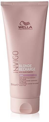 Wella, Invigo Blonde Recharge Cool Blonde Conditioner 200Ml