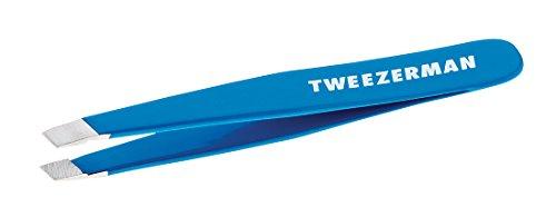Tweezerman Mini Pinzette oblique, Bahama Blue