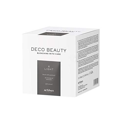 Artègo X-Light - Decolorante in polvere per capelli naturali o colorati - 2 x 500 g