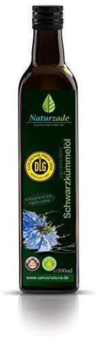 Olio di Cumino Nero 500 ml - Nigella Sativa - Pressato a freddo - Puro Naturale