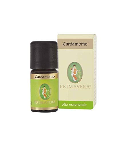 Flora Olio Essenziale di Cardamomo, Aroma Naturale per Alimenti - 5 ml
