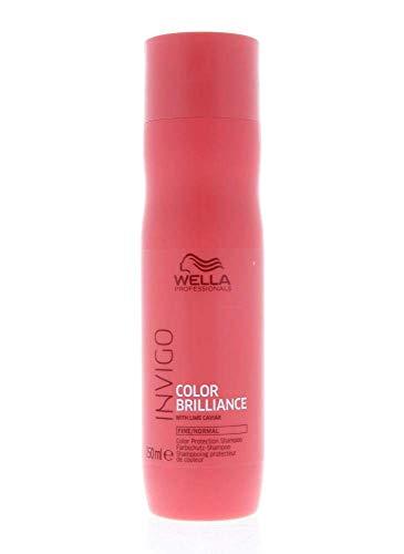 Wella Professionals invigo color Brilliance Protection Shampoo Fine/normal–farbschutzshampoo per fine/capelli normali, 250ML