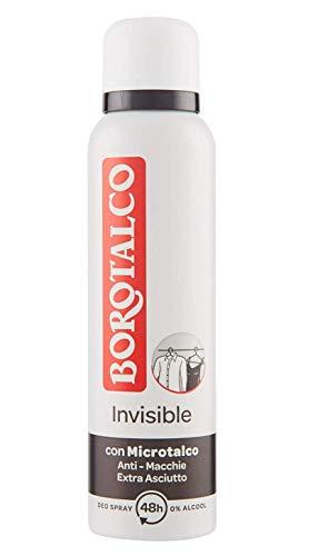 Borotalco Deodorante Spray Invisible, 150 ml