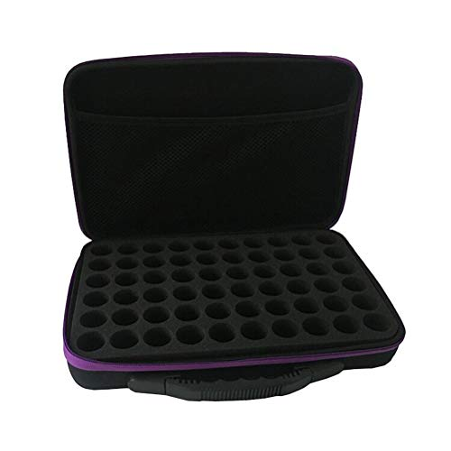 HEALIFTY - Custodia da trasporto per oli essenziali da 5 ml, contiene contenitori Doterra Young Living (colore casuale)
