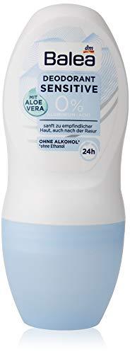 Balea Deo Roll On Deodorante Sensitive, confezione da 2 (2 x 50 ml)