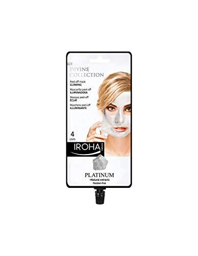 Iroha Nature - Illuminante Maschera Peel-Off - PLATINO, Glowing Mask