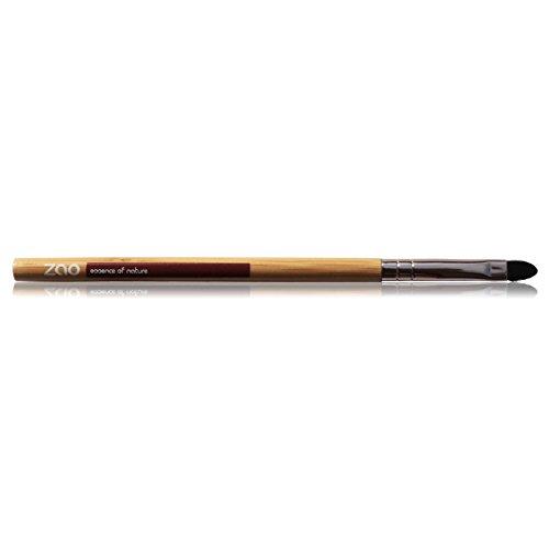 Zao labbra pennello (Lip Brush) piatta, in bambù, per labbro colore, Correttore, vegan