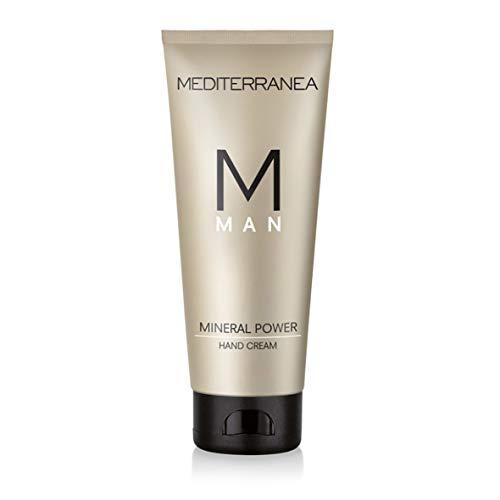 Mediterranea Linea Man - Crema Mani Idratante non Grassa ad Assorbimento Veloce - Lenitiva e Protettiva con Silicio e Vitamina E - 100 ml
