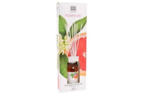 .GIRM® - ME16446 Diffusore d'Essenza con Bastoncini in Cotone Aroma Pompelmo ml 125