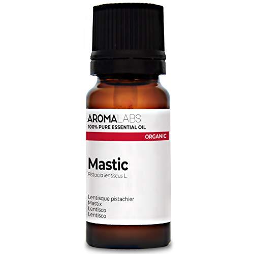 Aroma Labs Lentisco Bio - 10Ml - Olio Essenziale Bio E Naturale Al 100% - Qualità Verificata Mediante Cromatografia - Aroma Labs - 10 ml