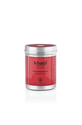 Khadi Bio - Henna e Amla in polvere 150 g Colore vegetale per capelli
