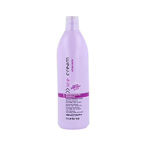 Inebrya Ice Cream Shecare Reconstructor Shampoo - 1000 Ml