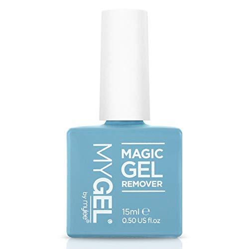 MYGEL by Mylee Magic Gel Remover – Solvente per smalto gel e acrilico - Rimuove facilmente e rapidamente qualsiasi tipo di smalto per unghie - 15ml