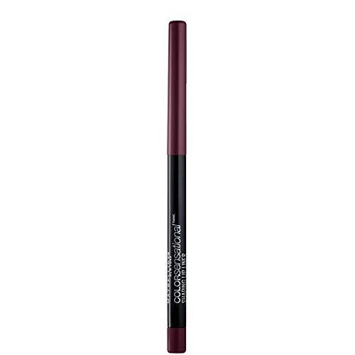 Maybelline New York Color Sensational Shaping Lip Liner Matita Labbra, Effetto Volumizzante, 110 Rich Wine