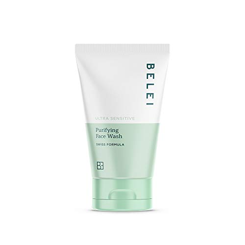 Marchio Amazon - Belei, Detergente viso purificante, per pelle ultra sensibile, 150 ml