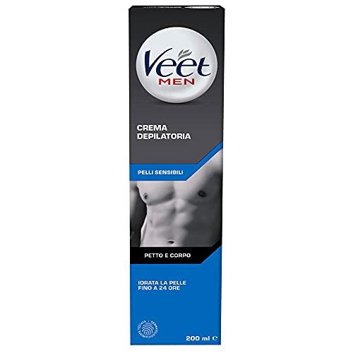 Veet For Men Pelli Sensibili (Depilazione classica, 1 confezione da 200ml)