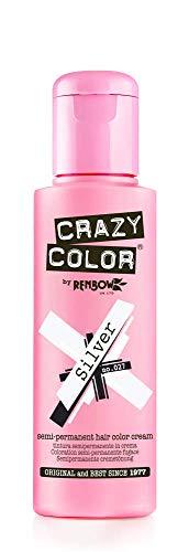Crazy Color Coloration 27 Fugace Argent 100 ml