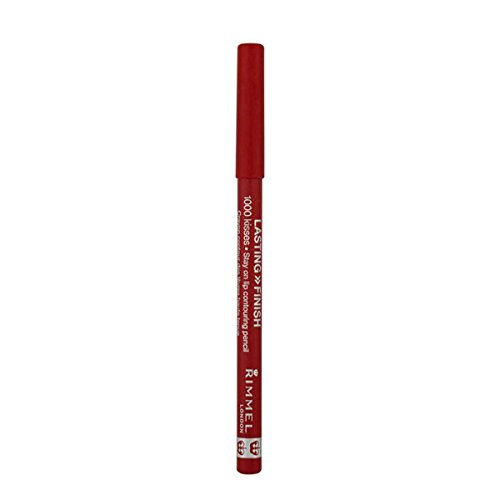 RIMMEL LONDON Lasting Finish 1000 Kisses Stay On Lip Liner Pencil - Indian Pink