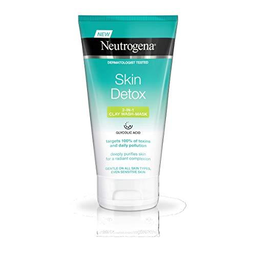Neutrogena Skin Detox 2-in-1Clay Wash Mask