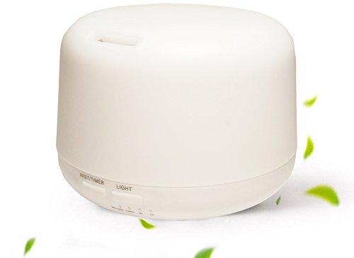 Benice Diffusore di Aromi 300ml umidificatore con lampada di fragranza calda illuminazione elettrica A770