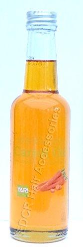 Yari 100% olio di carota naturale per corpo e capelli 250ml